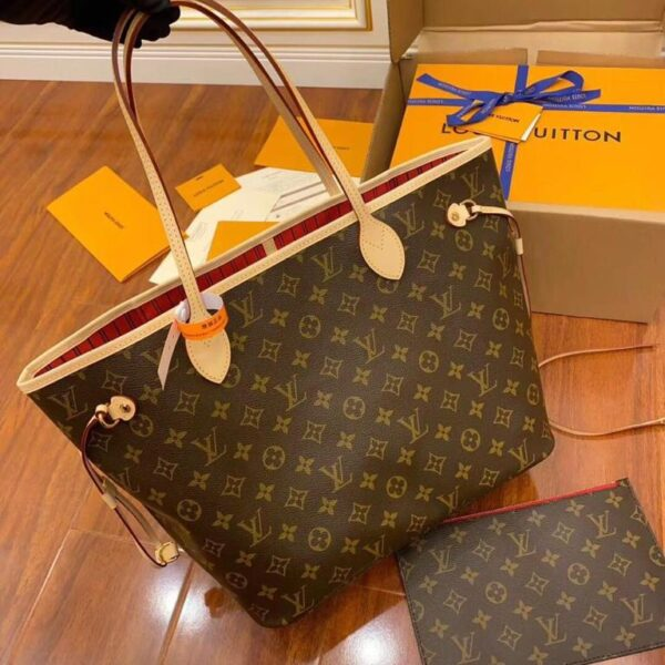 LOUIS VUITTON DUTY FREE NEVER FULL BAG