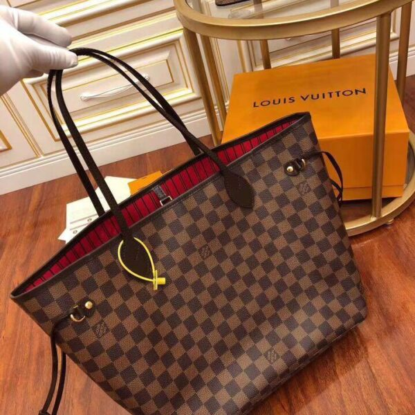 LOUIS VUITTON NEVER FULL MM DUTY FREE BAG
