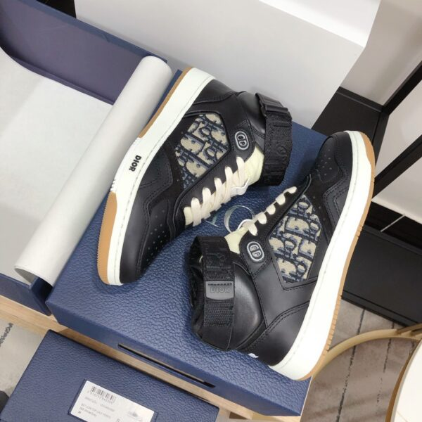 CHRISTIAN DIOR B27 HIGH-TOP BLACK SNEAKER