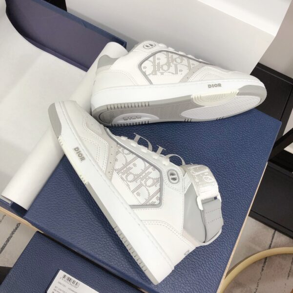 CHRISTIAN DIOR B27 HIGH-TOP WHITE SNEAKER