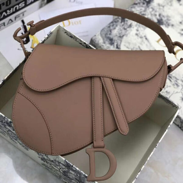 Christian Dior Saddle Calfskin Purse