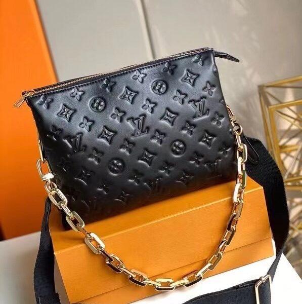 Louis Vuitton Coussin Black Purse M57790