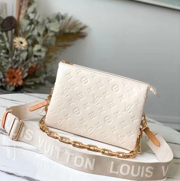 Louis Vuitton Coussin Beige Purse M57793