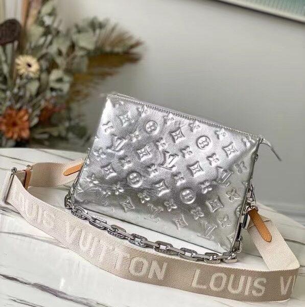 Louis Vuitton Coussin Silver Purse M57913