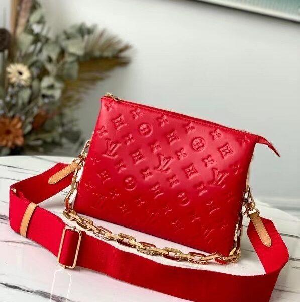Louis Vuitton Coussin Red Purse M57792