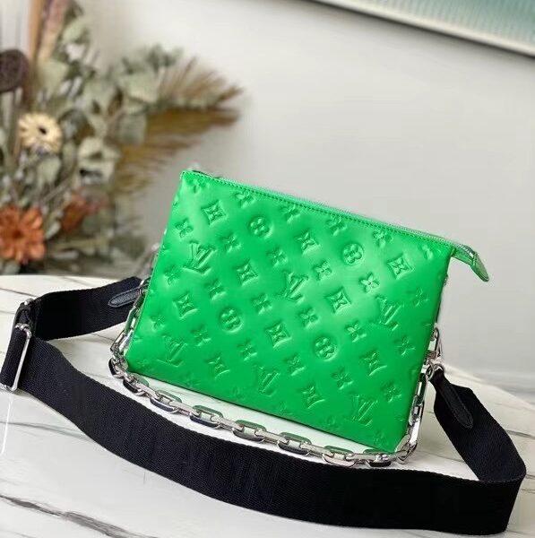 Louis Vuitton Coussin Green Purse M57936