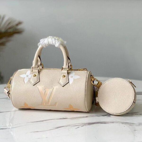 Louis Vuitton Papillon BB Bouton Cream/Saffron M45708